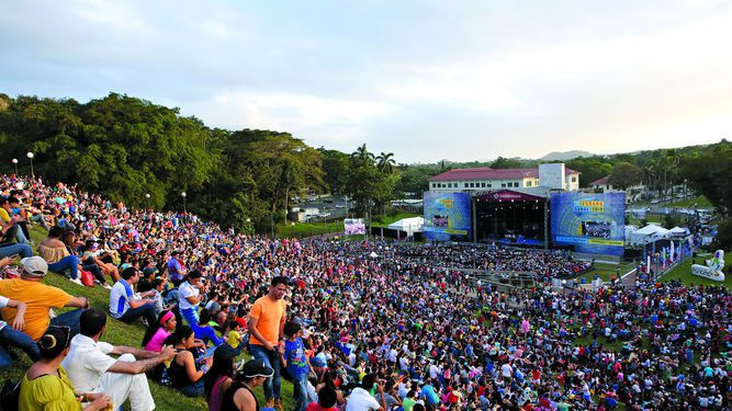 Termina el Verano Cultural del Canal de Panamá, con música variada