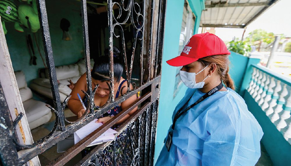 Infección comunitaria está 'fuera de control'