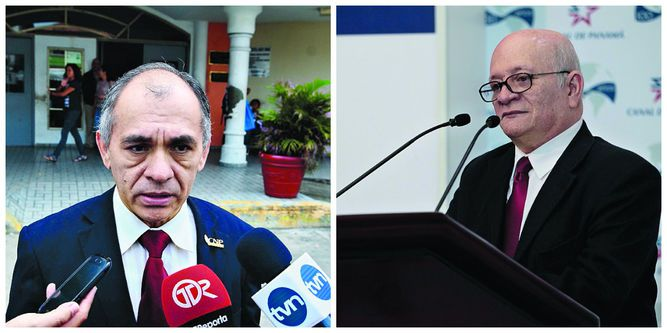 Rafael Candanedo y Manuel Orestes Nieto, miembros de la Academia Panameña de la Lengua