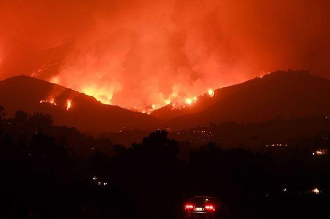 Lo que se sabe de los feroces incendios en California