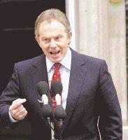 Tony Blair concluyó ayer formación de gabinete
