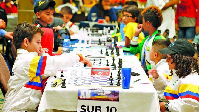 Primeras jugadas y retos en torneo de la Juventud