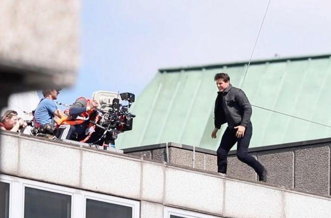 Tom Cruise se lesiona luego de grabar una escena de 'Misión: Imposible 6'