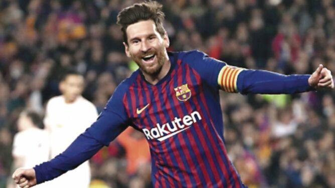 Ajax sorprende y Barça gana con ayuda de Leo