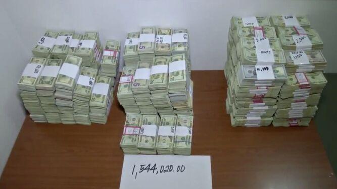Policía decomisa $1.5 millones a un colombiano en vía España