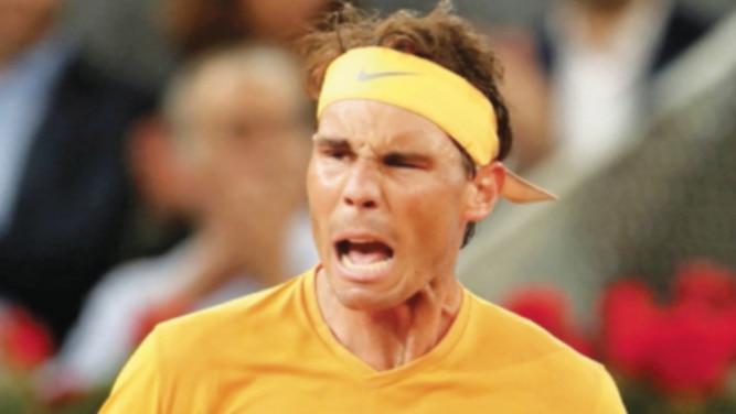 Nadal bate récord de McEnroe  y avanza