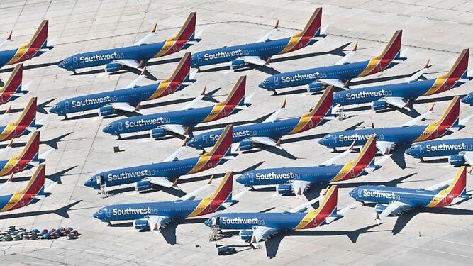 Boeing espera que flota MAX entre en operación este año