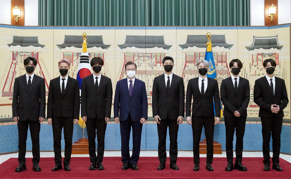 BTS, embajadores de la industria del K-Pop coreano en la Asamblea de la ONU