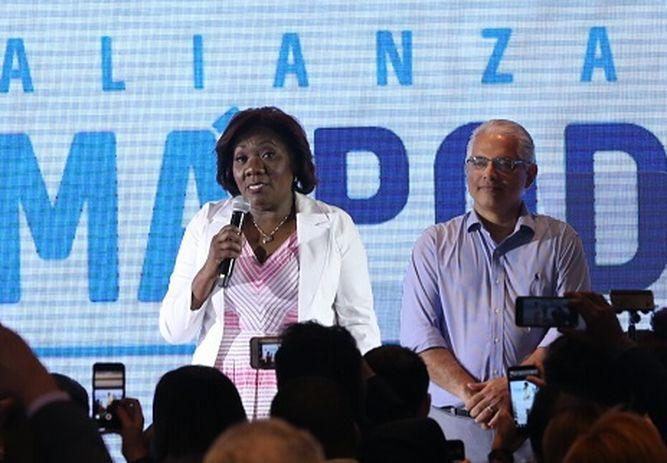 Nilda Quijano, la compañera de fórmula del candidato presidencial José Isabel Blandón