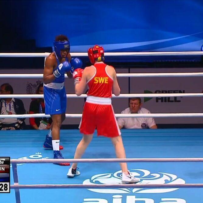 Atheyna Bylon debuta con triunfo en el Mundial de Boxeo de Rusia