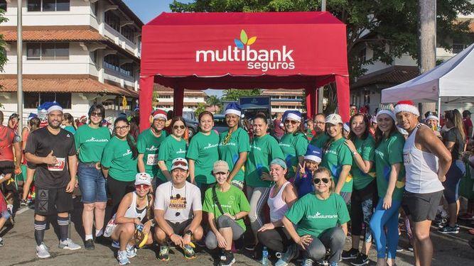 Multibank Seguros apoya nuevamente la caminata Santa's Race