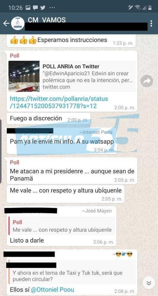 Poll Anria, el panameño detrás del 'call center' del presidente de Guatemala