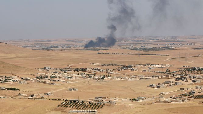 Las fuerzas antiyihadistas entran en ciudad siria de Manbij