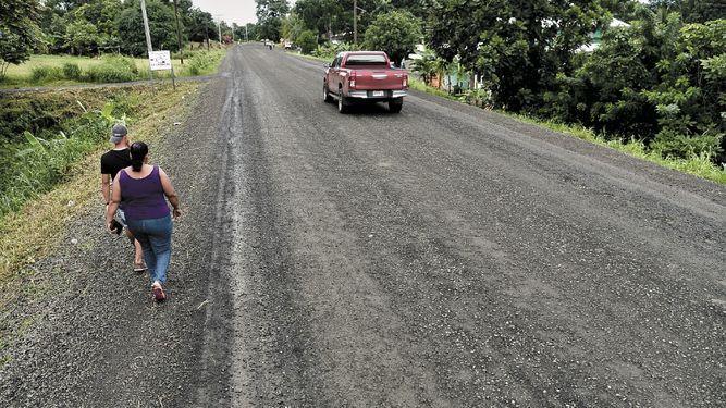 Carretera a Darién presenta daños