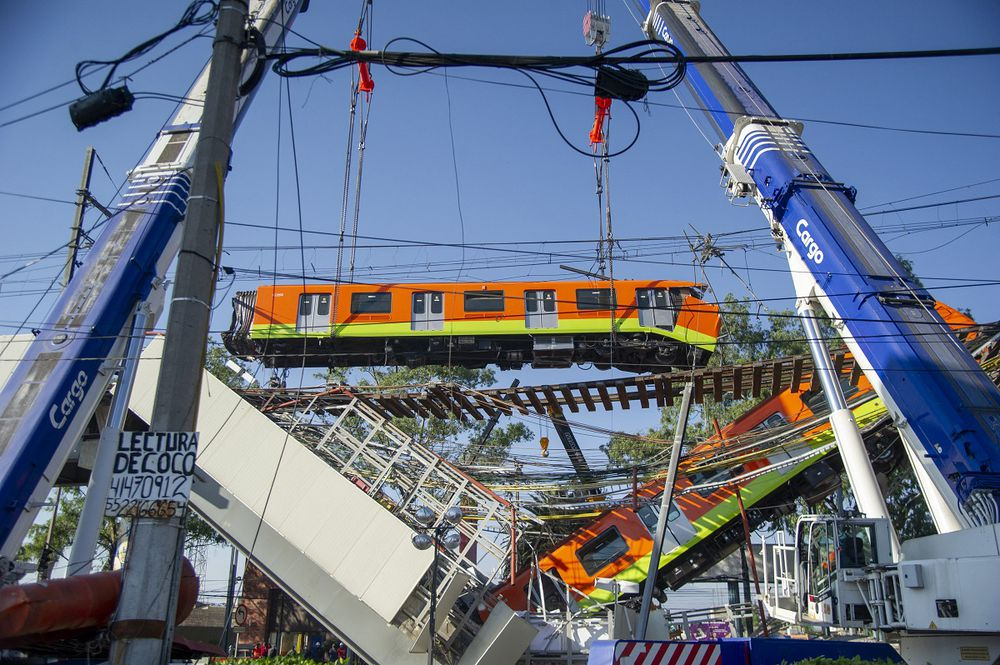 Línea 12, la obra bajo continua sospecha que desató tragedia en metro de México