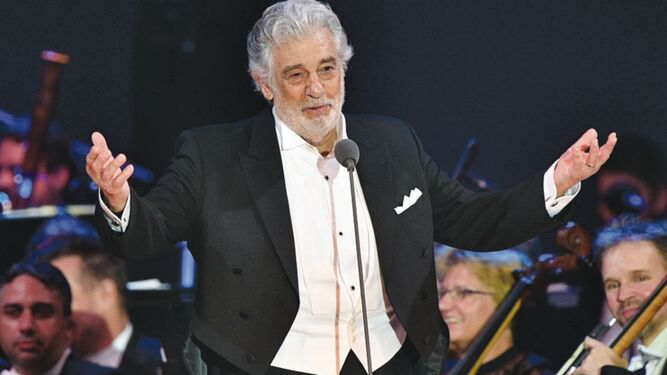 Plácido Domingo cancela actuación en Tokio 2020