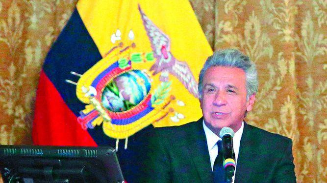 Lenín Moreno dice que no tolerará la corrupción