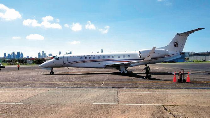 Tras su reparación, avión presidencial regresa al país
