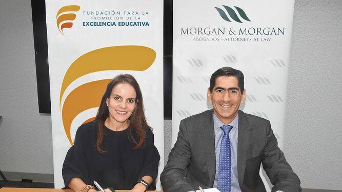 Morgan & Morgan y Fundación para la Promoción de la Excelencia Educativa