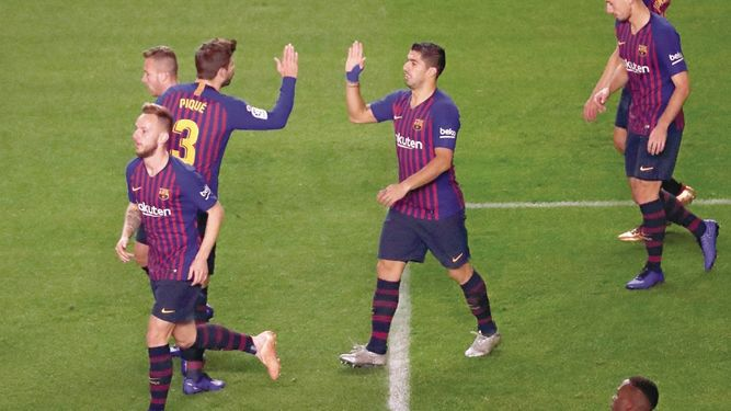 Barça sigue al frente de Liga y el Alavés no aguantó presión