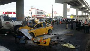Cinco muertos y dos heridos en accidente de tránsito frente a Metromall y Los Pueblos
