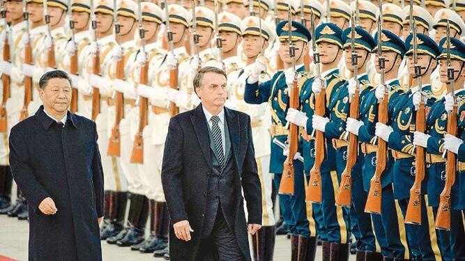 China y Brasil refuerzan comercio