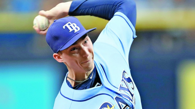 Snell anula a Marineros; Rays blanquean