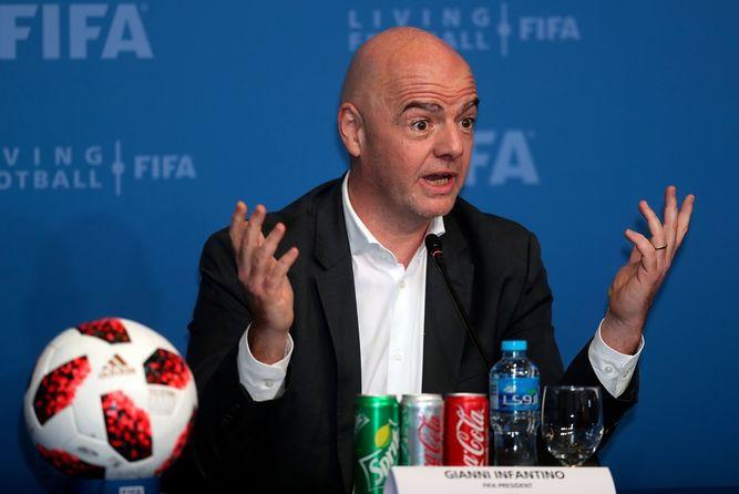 Infantino cuenta con apoyo de la 'mayoría' de federaciones para un Mundial con 48 equipos