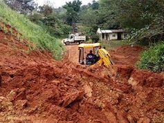 Veraguas: Sinaproc atiende emergencias en puentes en la vía hacia Mariato
