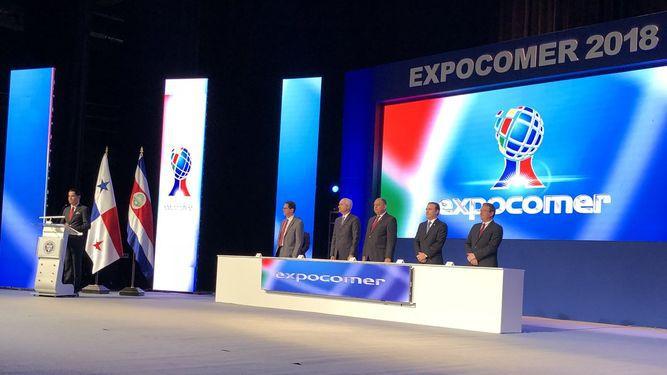 Luis Guillermo Solís destaca la integración comercial en Expocomer