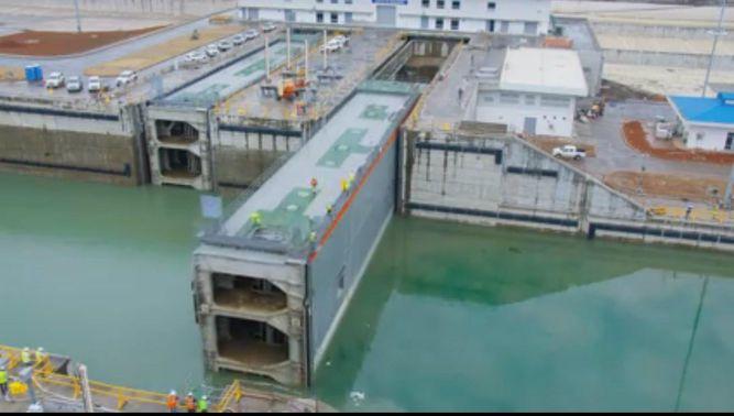 Video: Así funcionan las nuevas esclusas del Canal de Panamá