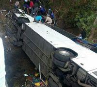 Accidente de tránsito en  Antón deja al menos 18 muertos y 37 heridos