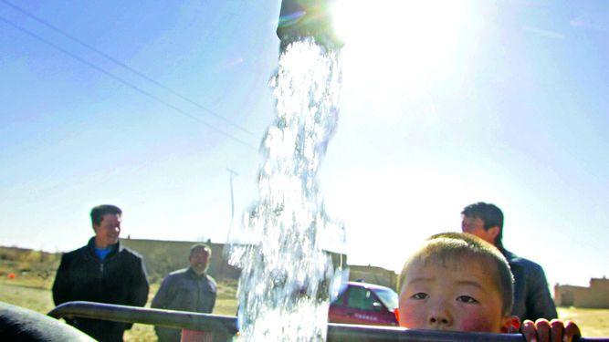 China quiere recuperar su agua