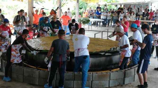El patacón más grande del Mundo, un Guinness Record con sabor panameño