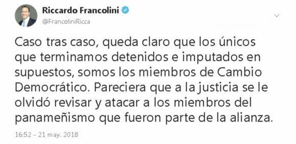 Riccardo Francolini pagó $8.5 millones en solo meses