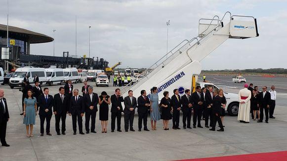 El papa Francisco llega a Panamá, para su gran cita con los jóvenes