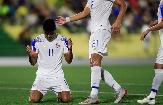 Costa Rica sufre para vencer 2-1 a Curazao en Liga de Naciones