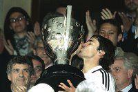 Real Madrid recibió la copa