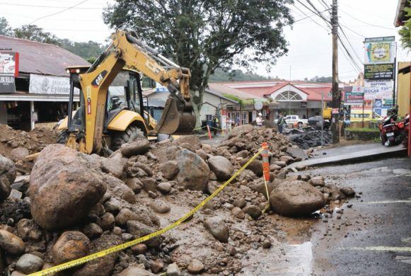 Obras paralizan economía de Boquete