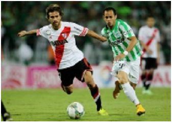 River Plate y Nacional empatan 1-1 en juego de ida de final de Copa Sudamericana