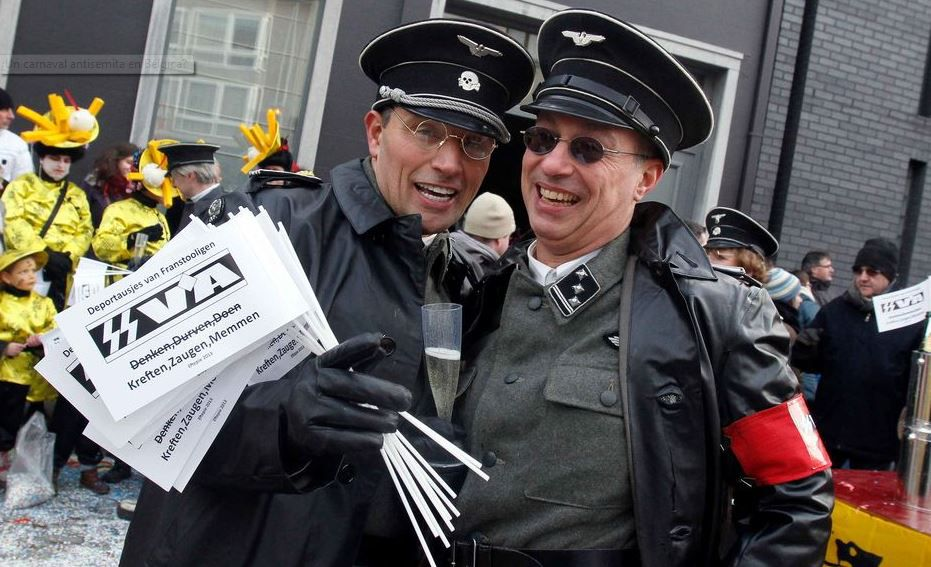 Unión Europea condena un carnaval belga por 'antisemita'