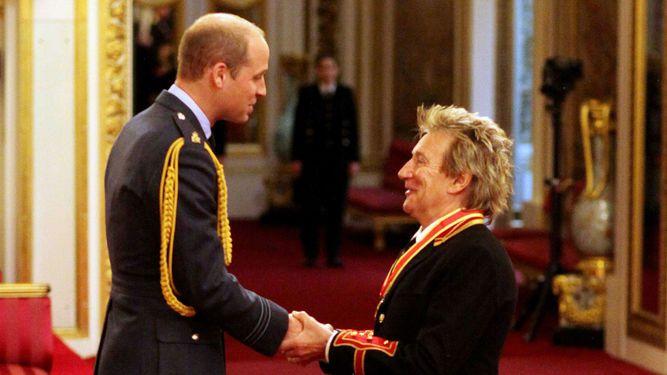 Rod Stewart es nombrado 'sir'