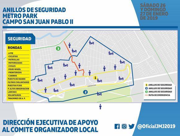Hay 57 planes de acción en materia de seguridad por la celebración de la JMJ