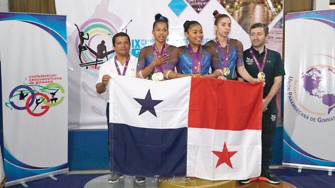 La gimnasia panameña se colma de medallas