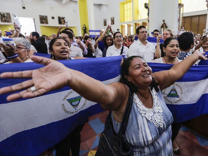 Familiares denuncian trato inhumano a opositores presos en Nicaragua