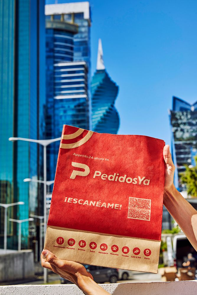 'Appetito24' ahora es 'PedidosYa', la marca líder en delivery de Latinoamérica