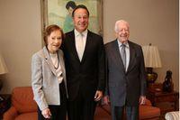 Jimmy Carter recibe condecoración Manuel Amador Guerrero