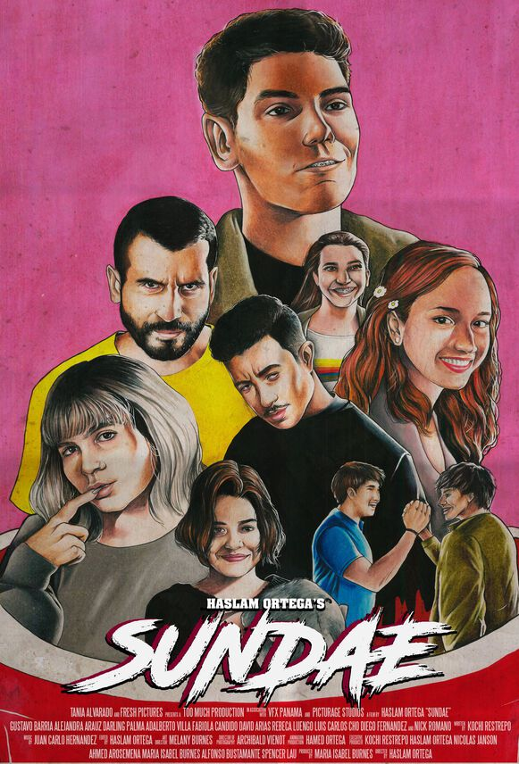 'Sundae', un filme panameño de terror