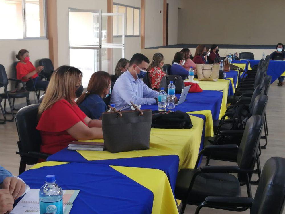 Meduca realiza reunión de coordinación para el retorno gradual y semipresencial a clases