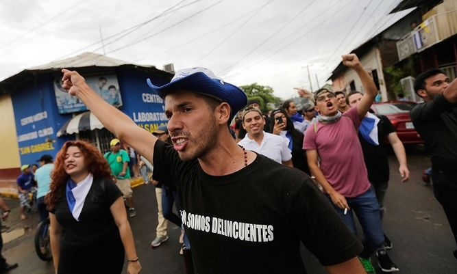 Dos muertos y medio centenar de heridos en protestas en Nicaragua